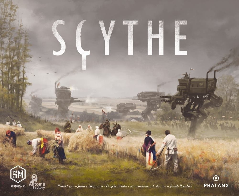 Gra planszowa Scythe