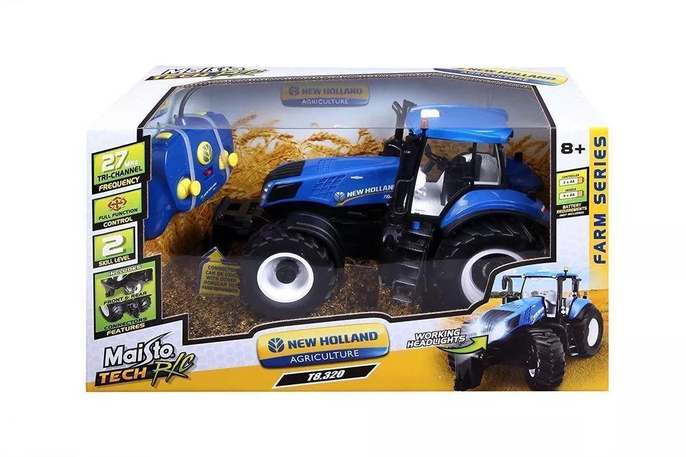 Zdalnie sterowany traktor New Holland