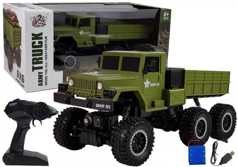 ciężarówka zdalnie sterowana wojenna