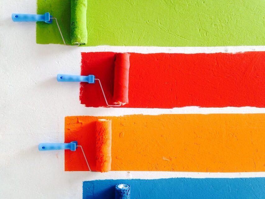 wałek do malowania ścian