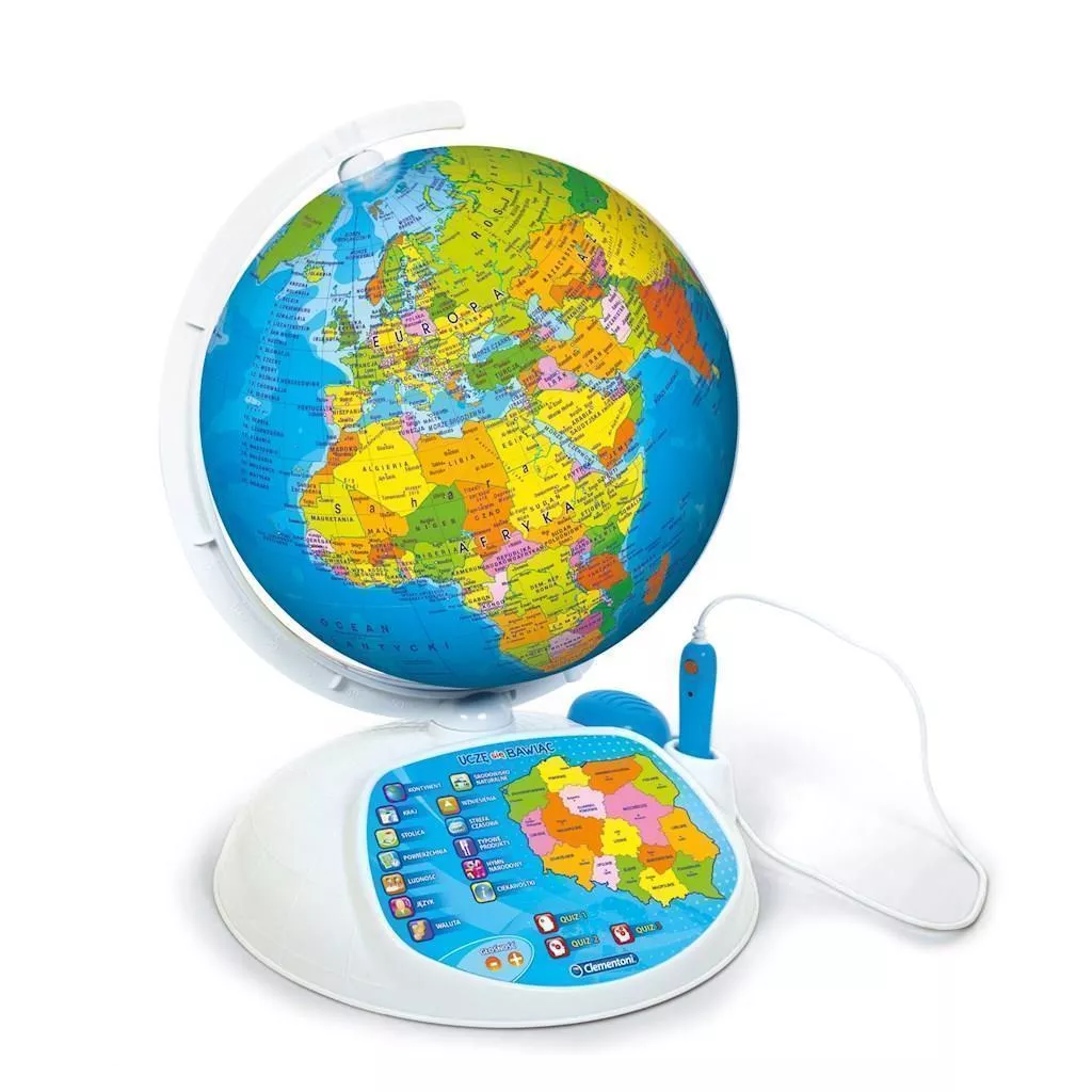 Zabawka edukacyjna interaktywny globus Clementoni