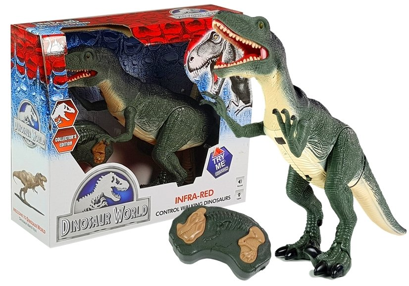 Dinozaur zdalnie sterowany Lean Toys